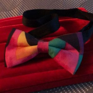 """Bow tie for man or woman 20"""" long adj to smaller"""